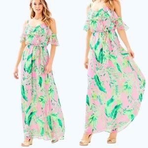 Lilly Pulitzer Zadie Maxi Dress Size S 🌴🌸